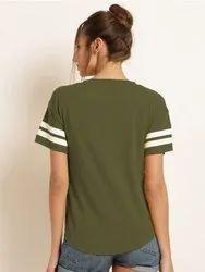 branded Half Sleeve Women Tshirts
