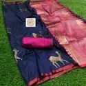 Banarasi Party Wear Pure Soft Silk Saree