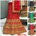 Exclusive Casual Wear Designer Silk Lehenga Choli