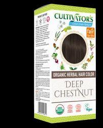 Organic Herbal Hair Color - Deep Chestnut