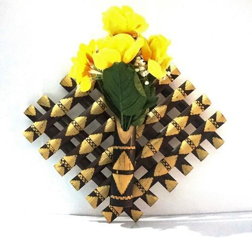 Bamboo wall hanging flower vase at rs 150 piece bamboo flower bamboo wall hanging flower vase mightylinksfo
