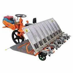 Separate Crank Shaft & Connecting Rod System with Seedling Pusher VST Shakti VST Yanji Shakti 8 Row Paddy Transplanter