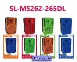 Sonilex SL Mobile Speakers 262-265
