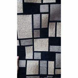 Check Cotton Chenille Sofa Fabric