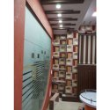 Office Glass Interior Designing Service, Work Provided: Mirror Work