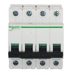 Schneider Make Acti-9 MCB Four  Pole