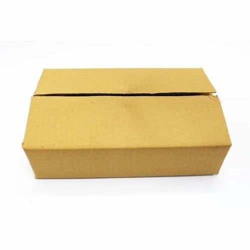 8x5x2 Inch Brown 3 Ply Packaging Corrugated Box