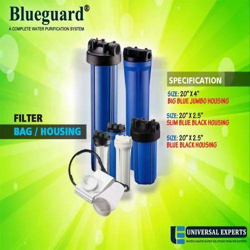 Micron Filter Bag / Housing