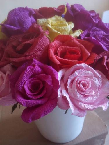 Lovely flower for you ecommerce shop online business of paper read more paper flowershandmade mightylinksfo