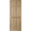 6 Panel Solid Wood Doors, Thickness: 35-42 Mm