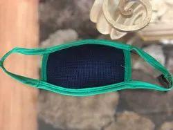 Black Washable Mask