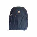 Polyester Black Shoulder Backpack