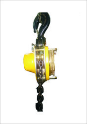 Spark Proof Chain Pulley Block-1T x 3mtrs Lift