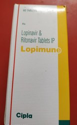 Anit HIV Lopinavir & Ritonavir Tablets IP