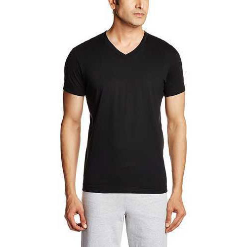 Black M And Xl Mens Jockey Casual T-Shirt