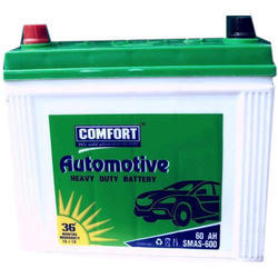 Comfort 60 Ah Automotive Battery, Voltage: 12 V