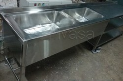 Stainless Steel Plate Wash Basin