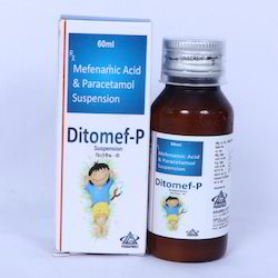 60 Ml Mefenamic Acid Paracetamol Suspension
