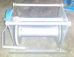 Spur Gear Winch Machine