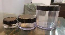San Jar with Black Cap