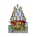 32 Inches Bronze Decorative Balaji Urli.