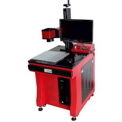 Desktop Fiber Laser Marking Machine, Model : EtchON FLE401D