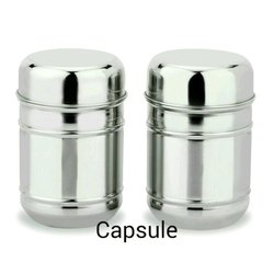 Capsule Stainless Steel Kitchen Canister