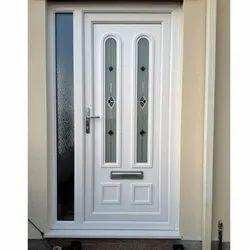 Decorative UPVC Door