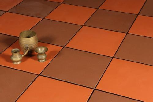 Natural Clay Terracotta Floor Tile 10 12 Mm Rs 55 Piece Id