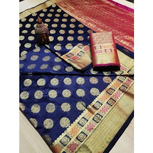 Designer Handloom Silk Sarees 6 m (with Blouse Piece)