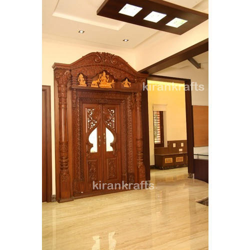 Bed room furnitures and main doors manufacturer kiran enterprises read more wooden pooja door altavistaventures Gallery