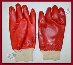 PVC Dip Knit-Wrist Glove
