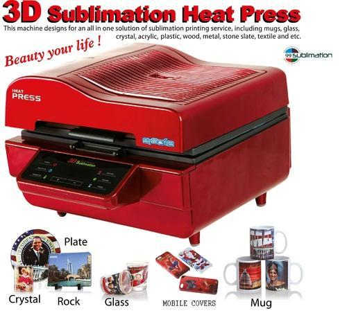 Printing Machine 3d Sublimation Machine For Coffee Mug Phone