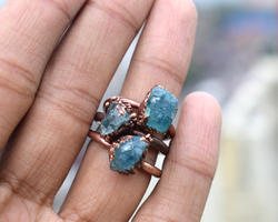 Apatite Gemstone Ring