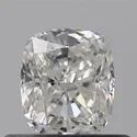 0.53 Ct Gia Certified Cushion Cut Natural Diamond D VVS1 EX VG VST