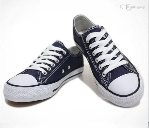 White Sparx Black-White Canvas Shoes