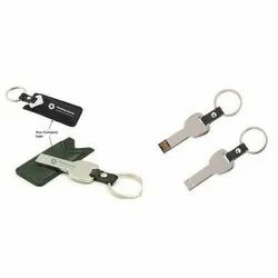 Leather Key Chain Pen Drive
