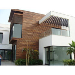 Exterior Wooden Cladding