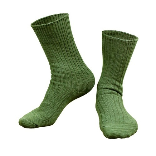 Free Size Plain Army Socks 22239bb848ea
