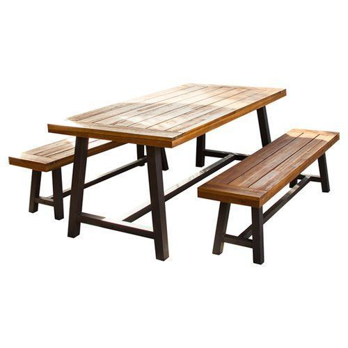 Swell School Canteen Table Bench Set Gmtry Best Dining Table And Chair Ideas Images Gmtryco