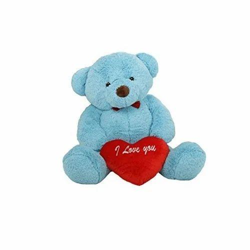 Sky blue teddy bear at rs 250 piece mona toys sky blue teddy bear altavistaventures Images