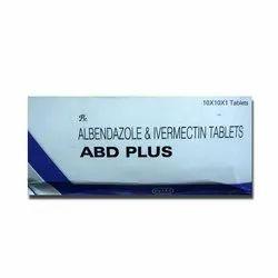 Albendazole 400 mgI Ivermectin 6 mg