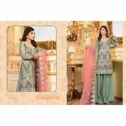Ladies Georgette Pakistani Lawn Suit