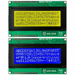 JHD LCD Displays