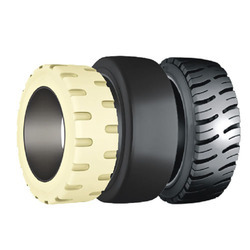 Press on Band Forklift Tire
