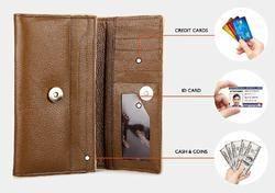 Leatherette Ladies Wallet