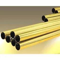 Indigo Round Aluminium Brass Tubes