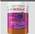 Nerolac Paint Impressions Metallic Finish Paint