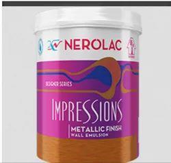 Nerolac Paint Impressions Metallic Finish Paint