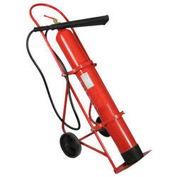 Trolley Mounted  Co2 Type Fire Extinguisher